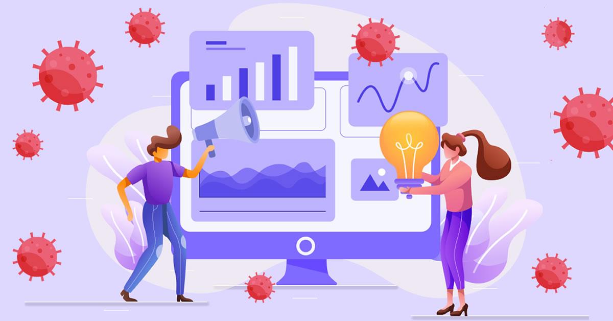 El Covid 19 y el gasto en marketing digital