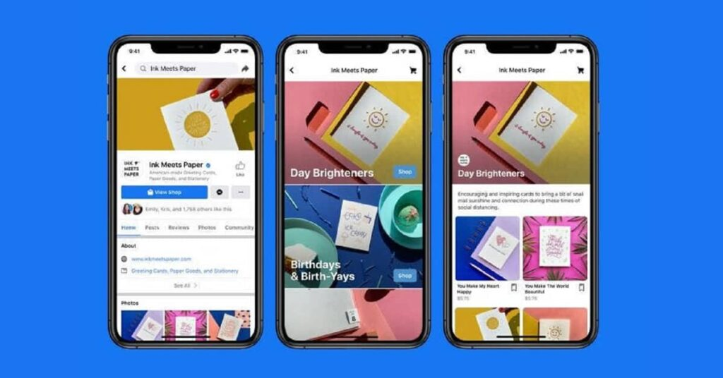 Las nuevas Tiendas de Facebook para los Negocios
